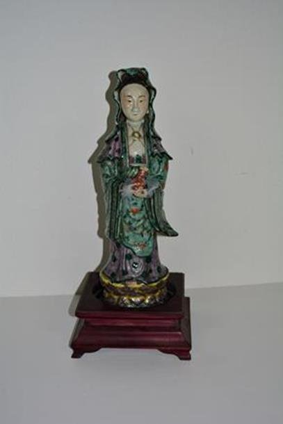 Chinese painted Quan Yin