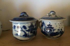 2 Antique Tea Cups