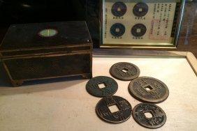 Chinese Old Money 9pcs