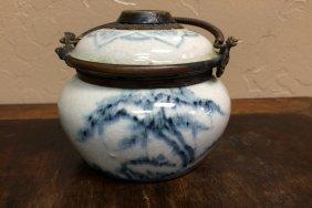Porcelain Oil Lamp