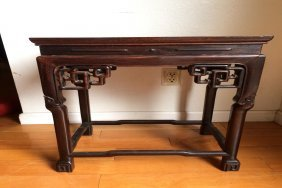 Rosewood Small Table