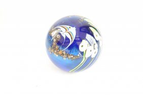 Paperweight Blue Fish