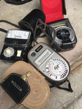 Light Meters For Taking Pictures
