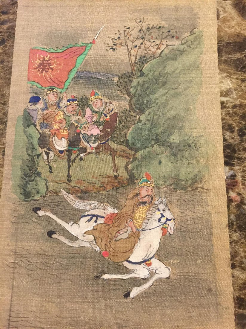 2 old chinese painting