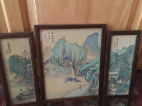 Chinese Screen Painting