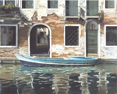 2031: Limited Giclee American Italian Boat Chase