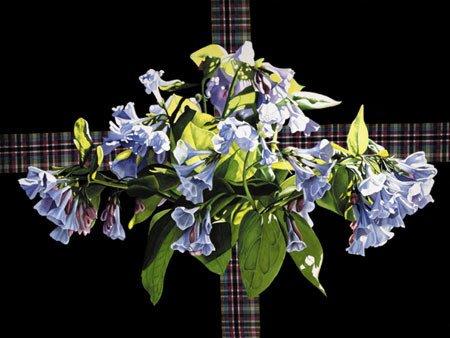 3004: Flower Painting Blue Bells American Buer