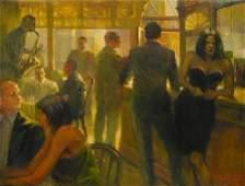 3070: Figure Painting Jazz Music American Anderson