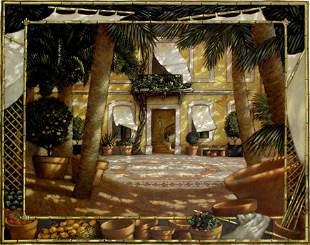 Venetian Painting French American Alberti