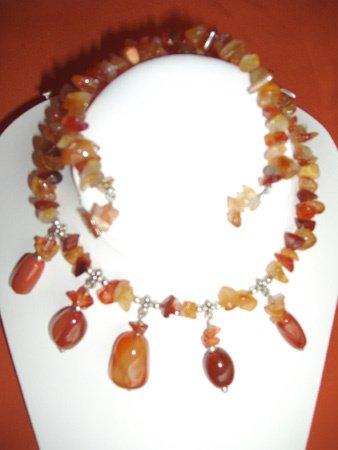 11089: Necklace Silver Jewelry Artesana Rozo
