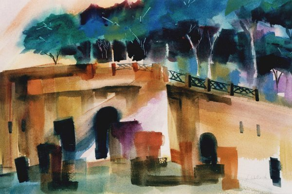 200: Palatine Hill, By Laurie Woolverton