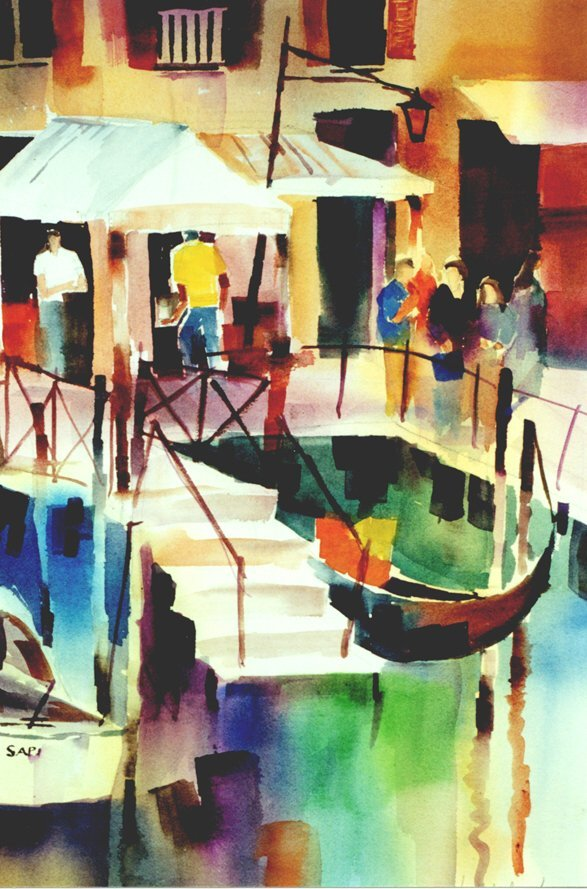 201: Venice Dock, By Laurie Woolverton