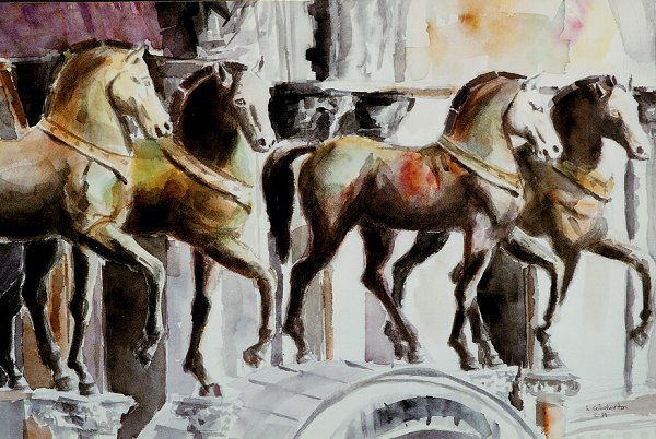 202: Horses of St. Marks,  Laurie Woolverton