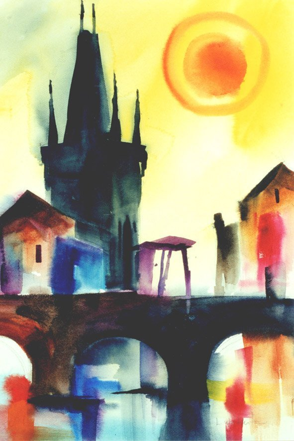 204: Yellow Prague, By Laurie Woolverton