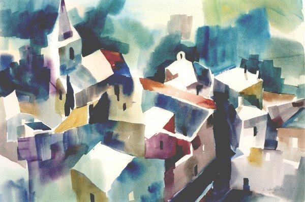 207: Les Baux, By Laurie Woolverton