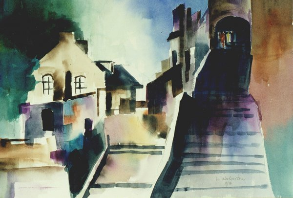 208: Mont St. Michel, By Laurie Woolverton