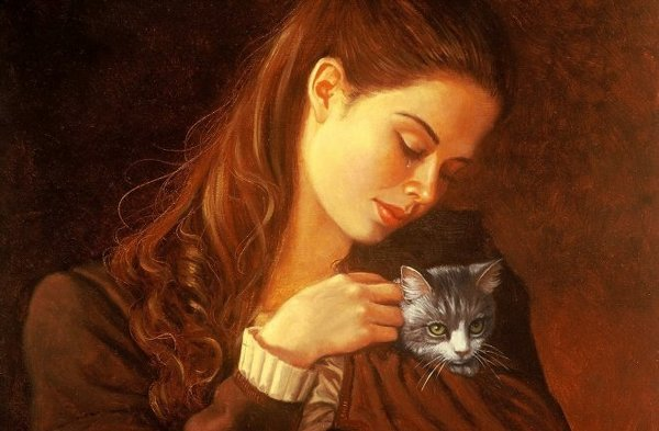 300: Beatrice and the Kitten, Ruth Sanderson