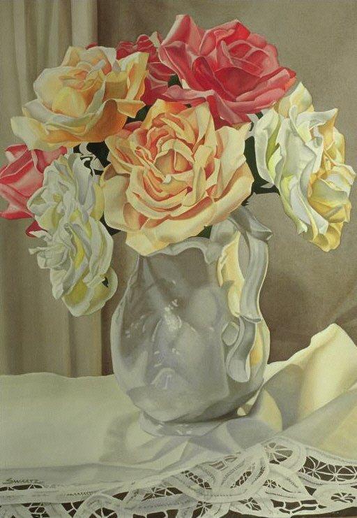 406: Rose Bouquet, By Jeannine Swartz