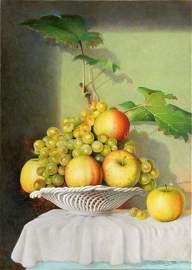 1400: Porcelain Fruit Bowl, Guiseppe Mariotti