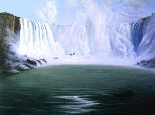 1501: Horse Shoe Falls, By Bob Masla