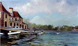 Harvard Boat Club, By Deborah Chapin