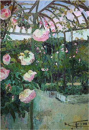Baudy Roses, By Deborah Chapin