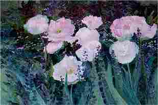 Pink Poppies, By Deborah Chapin