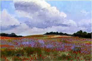 Poppies Breeze, By Deborah Chapin
