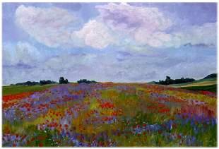 Poppies in the Sun, By Deborah Chapin