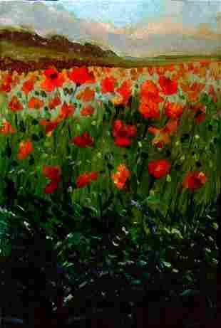 Poppies in Bloom, By Deborah Chapin