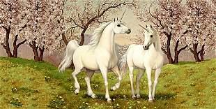 Unicorn Love, By Ruth Sanderson