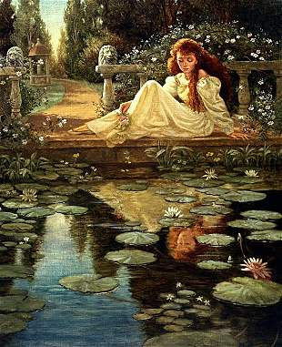 The Lily Pool, By Ruth Sanderson