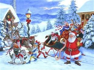 Santa's List, By Ruth Sanderson