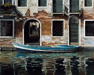 Venice Canal, By Laurie Chase