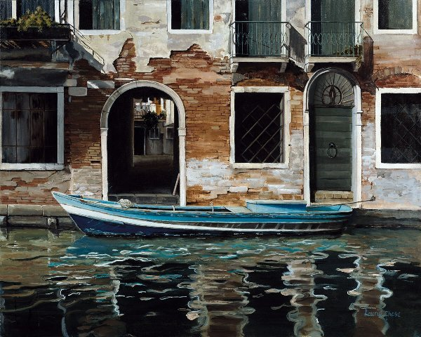 902: Venice Canal, By Laurie Chase