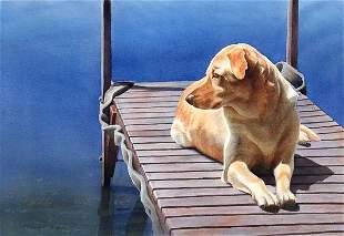 Dockside, By Elizabeth Gibson