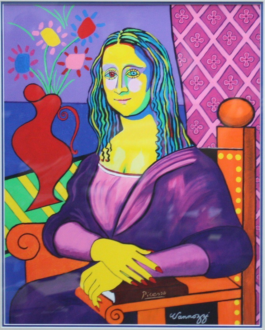 "Michael Vannozzi ""If Picasso Painted Mona Lisa"""