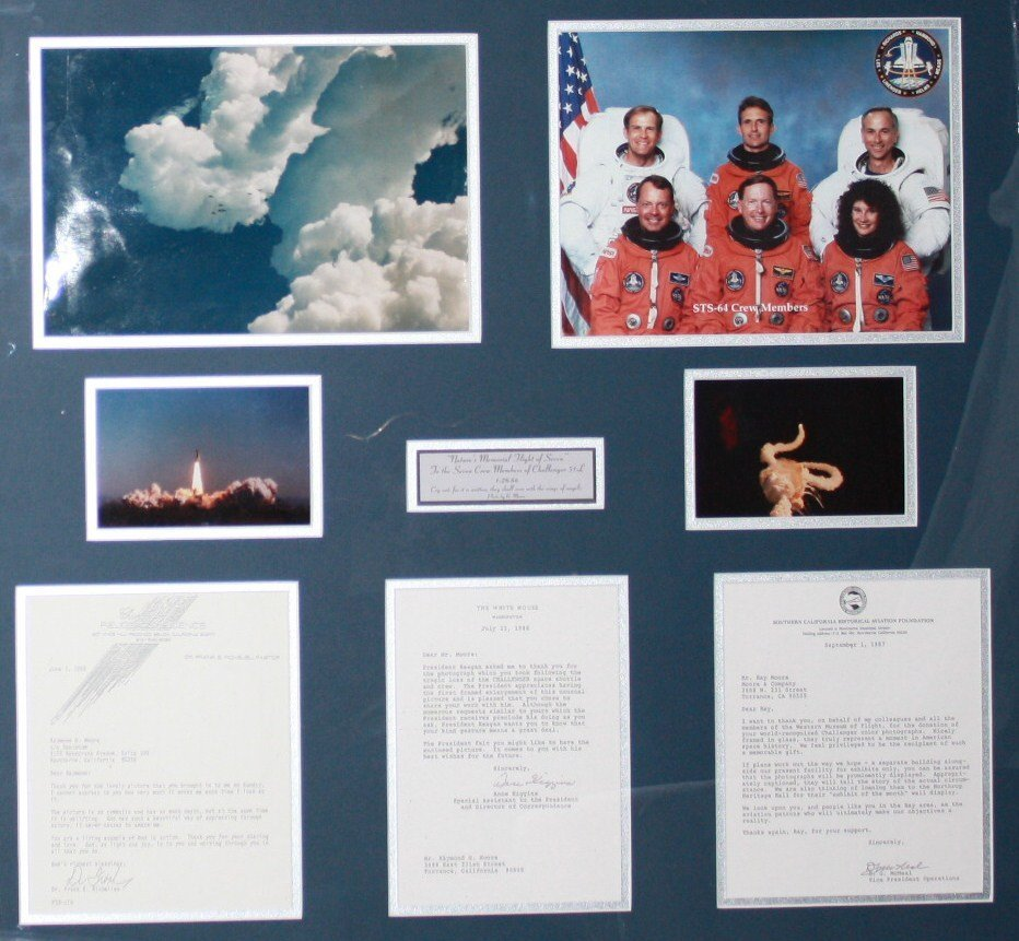Natures Memorial Collage, Challenger Shuttle