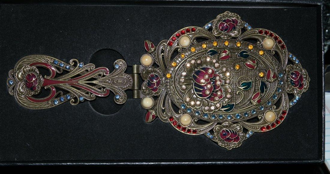 Victorian Style Jeweled Vanity Mirror