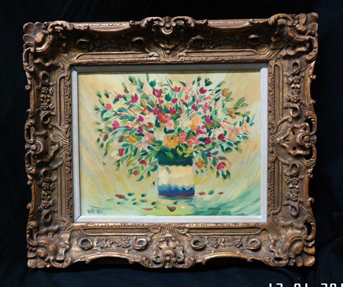 "Original William Verdult , ""Morning Light"". Oil on"