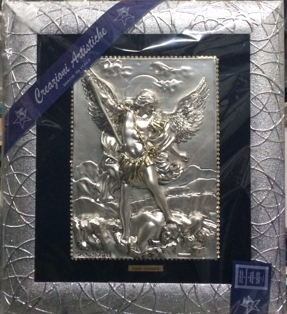 """Silve plated """"Angel Gabriel"""", made in Italy"""