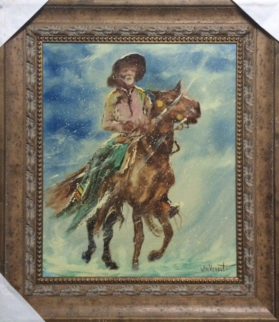 """Original William Verdult, """"Untitled"""". Oil on Canvas."""