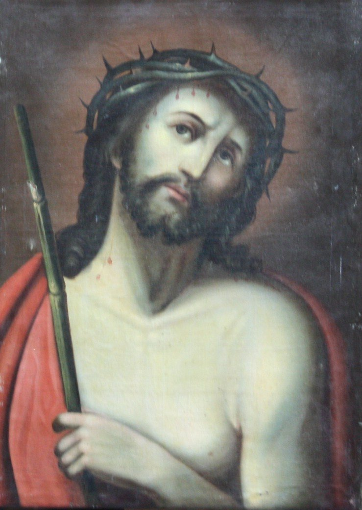19th Century Oil on Canvas from Austria.