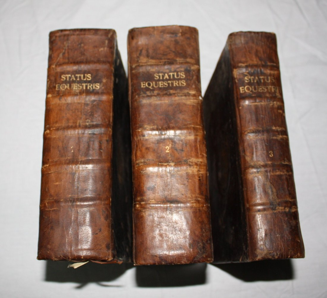 Law Books of House of Hasburg, dated 1700's