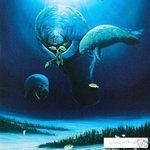 "Wyland Original Lithograph ""Manatee Visit"" Retails $900"