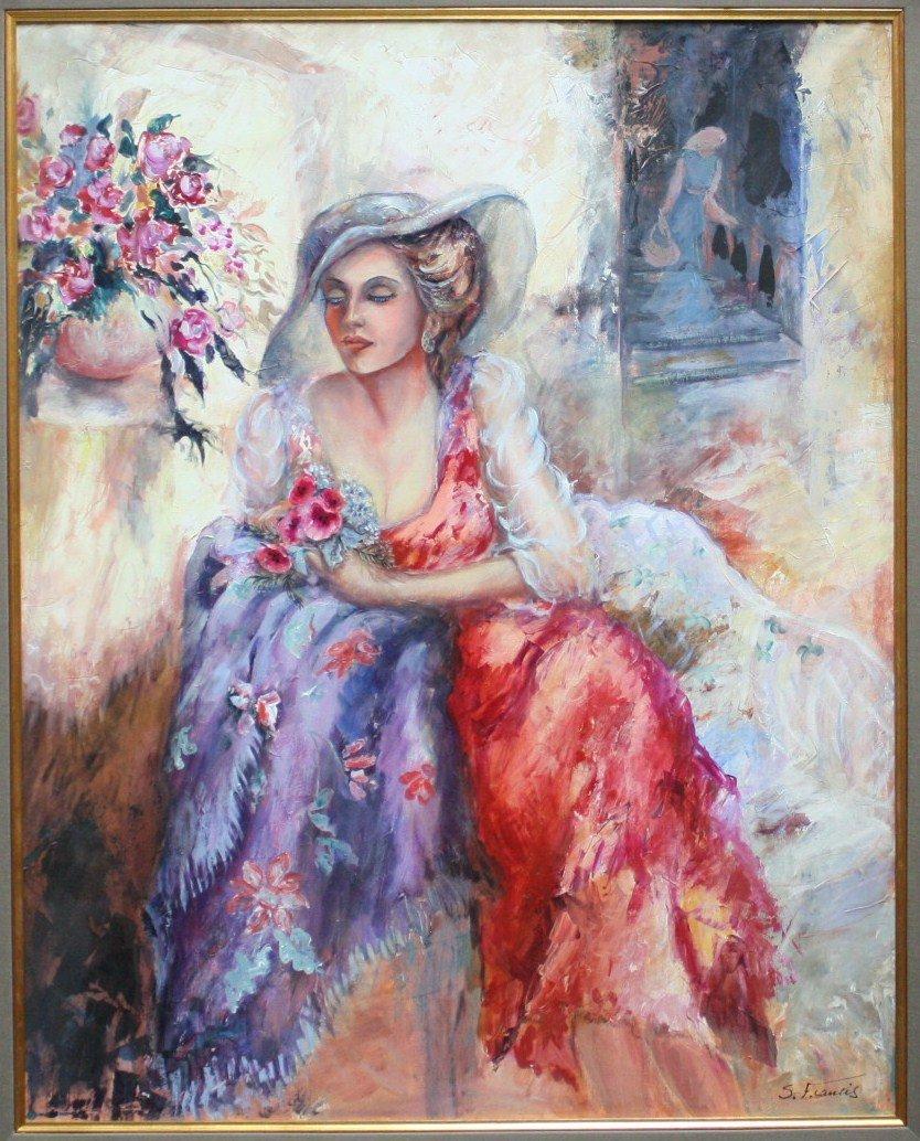 Sevit Francis Original acrylic on canvas