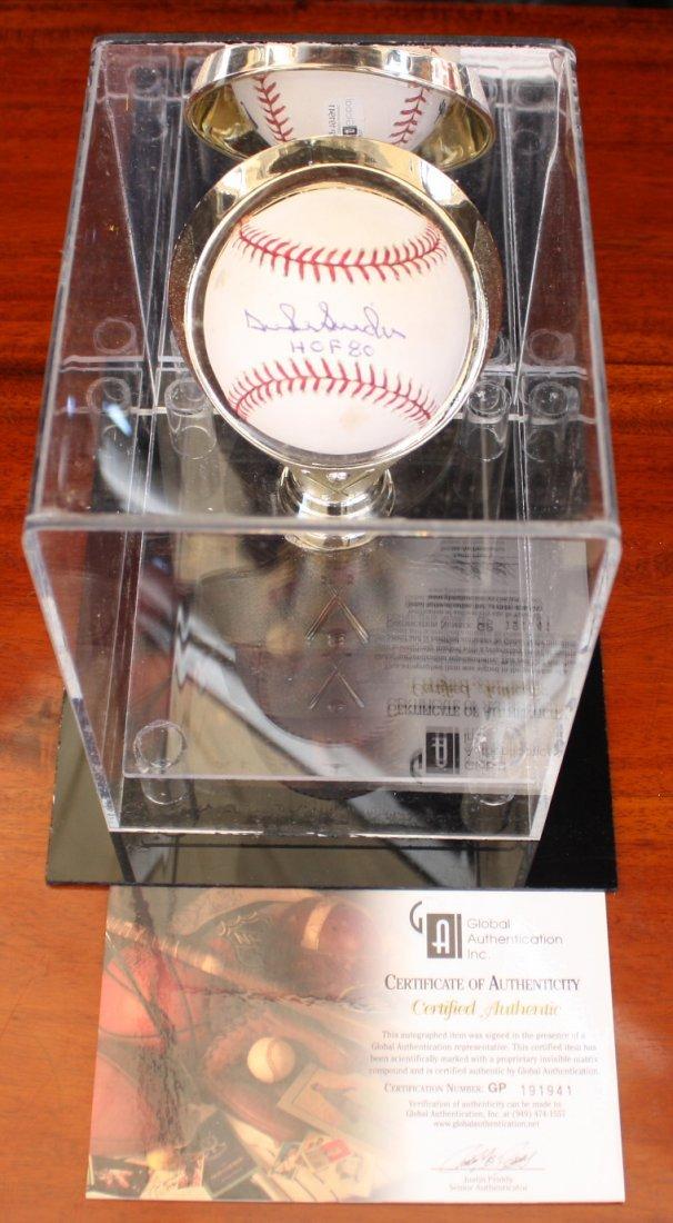 Duke Snyder signed baseball