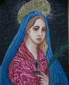 "Original William Verdult ""Weeping Mary of God"""