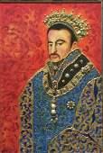 """Original Verdult """"King Phillip of Spain"""" gold"""