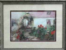 """Pino"""" Colorful Archway"""" on paper"""